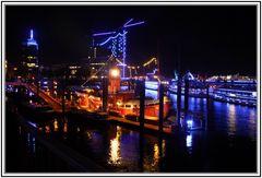 Hamburger Hafen ---- Blue Port 2012