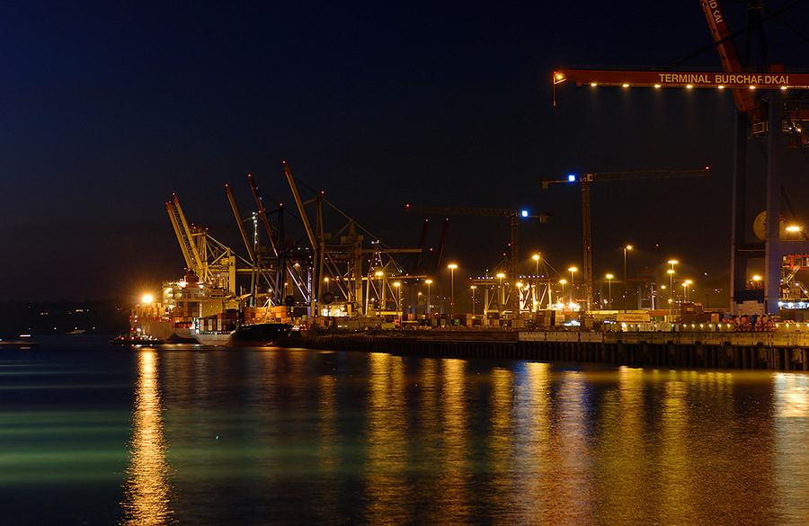 Hamburger Hafen - Burchardkai