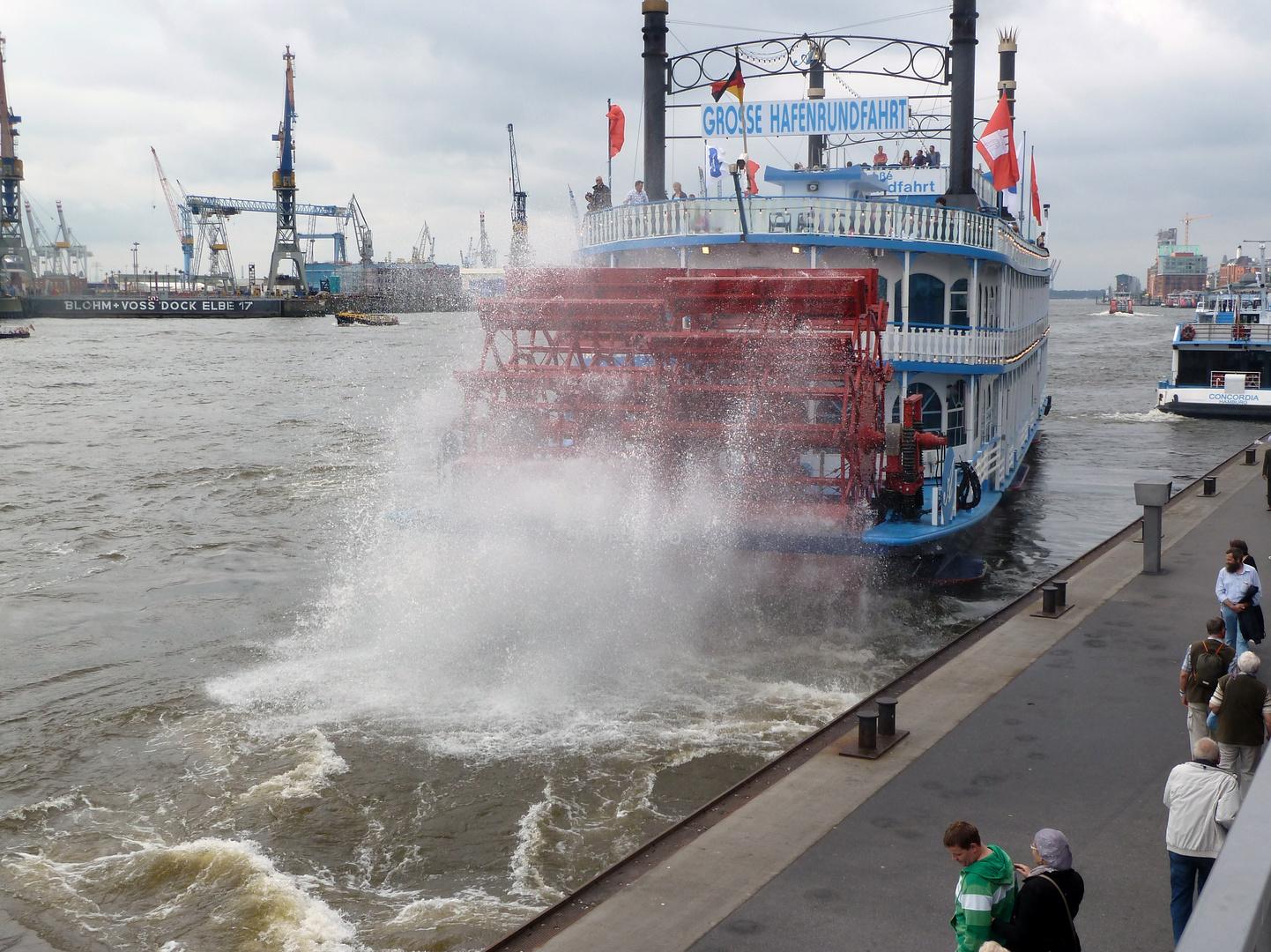 Hamburger Hafen....
