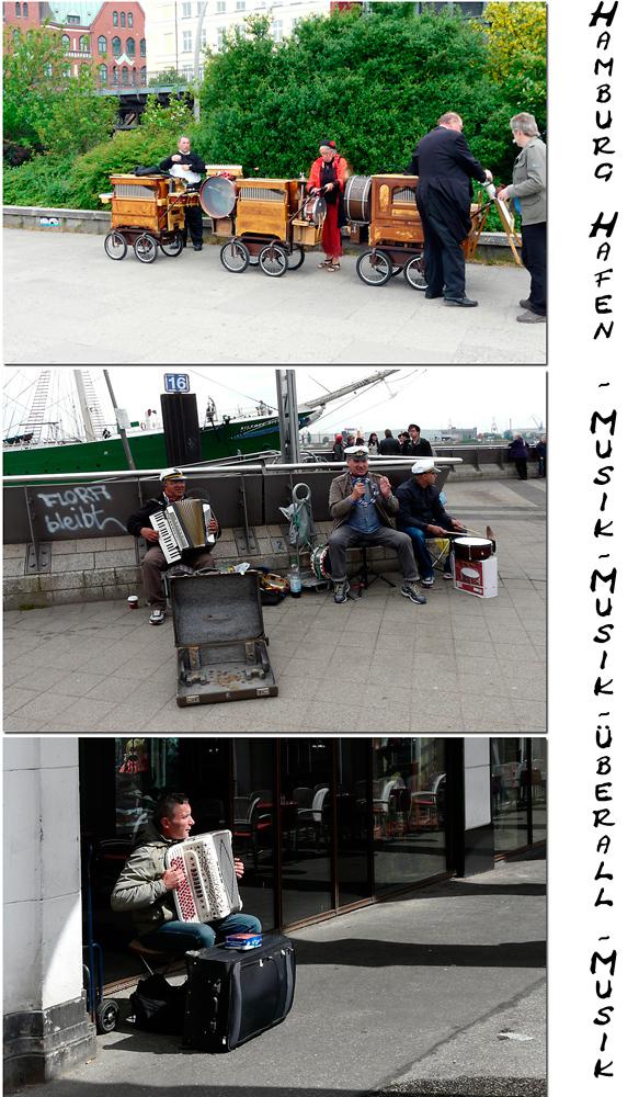 Hamburger Hafen - Musik gehört einfach zum Hafen