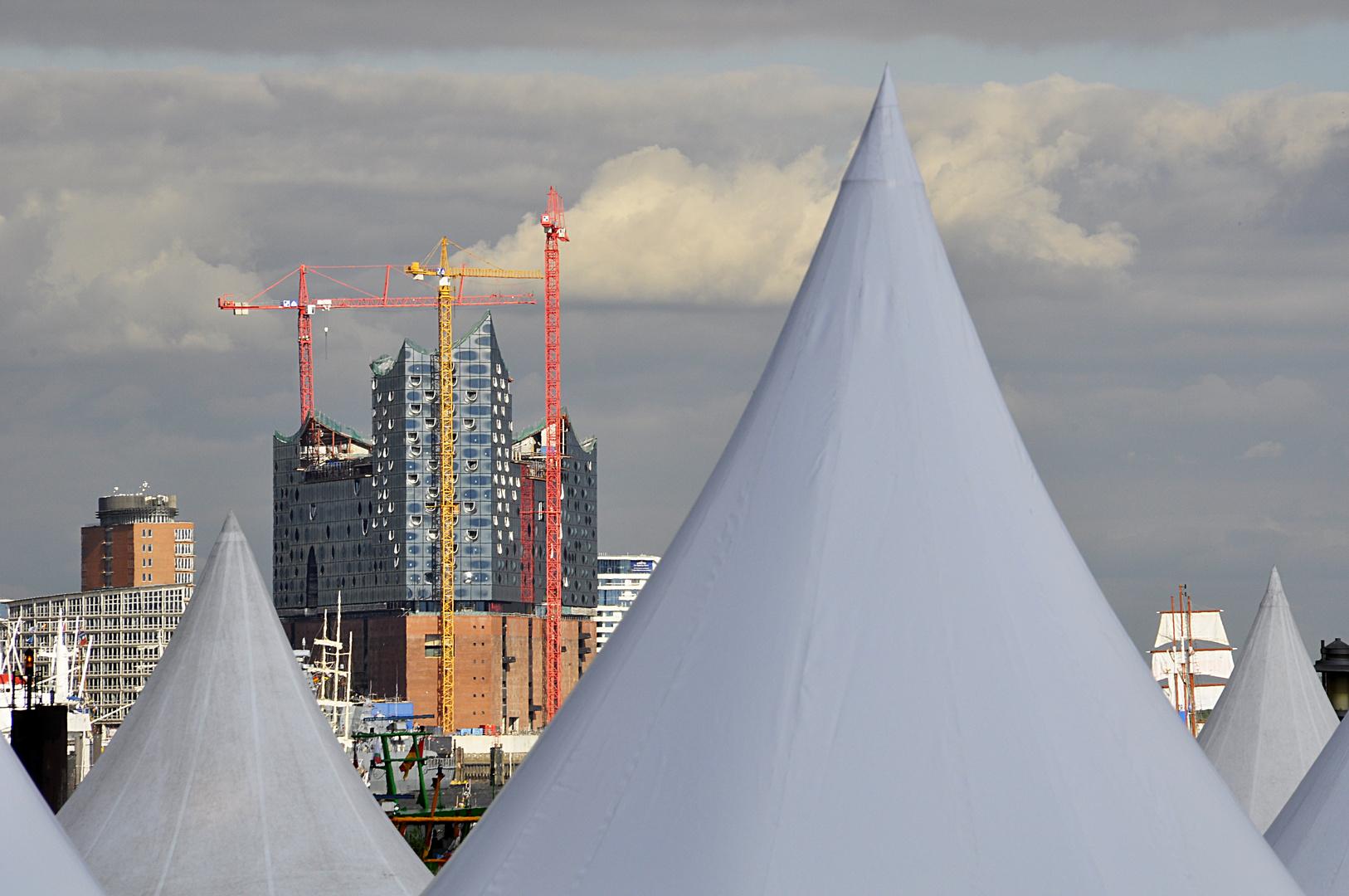 Hamburger Hafengeburtstag 2012 - Elbphilharmonie
