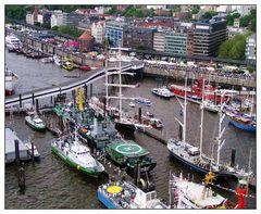 Hamburger Hafengewusel:-))