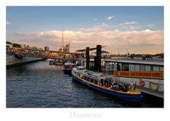 """Hamburger-Impressionen """" entlang des Hafens..... """""""