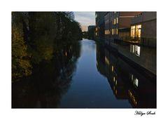 Hamburger Kanal Leben