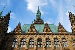 Hamburger Rathaus...