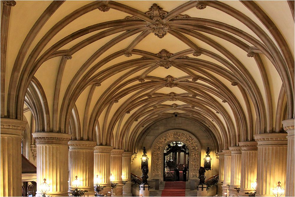 Hamburger Rathaus, Foyer