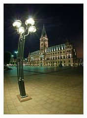 Hamburger Rathaus @ Night