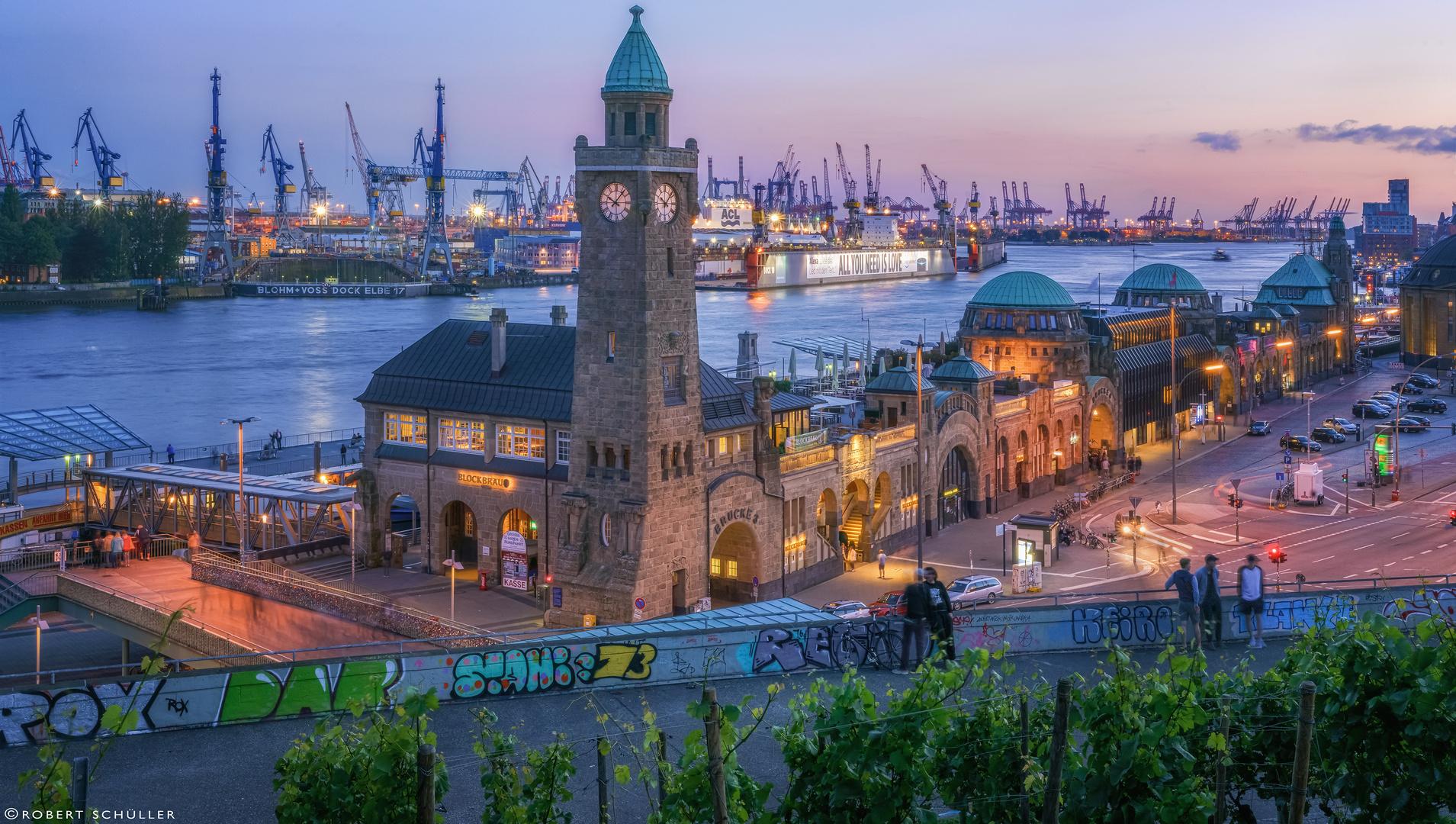 Hamburgs  Tor zur Welt