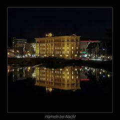 *** Hameln, bei Nacht ***