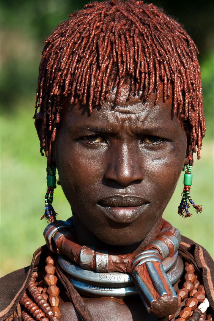 [ Hamer Tribe Woman ]