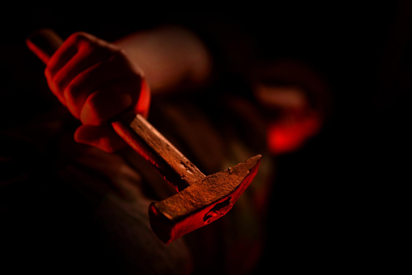 ... hammer  ...