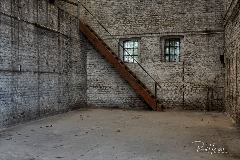 Hammer Mühle .... die Treppe