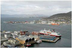 Hammerfest die nördlichste Stadt