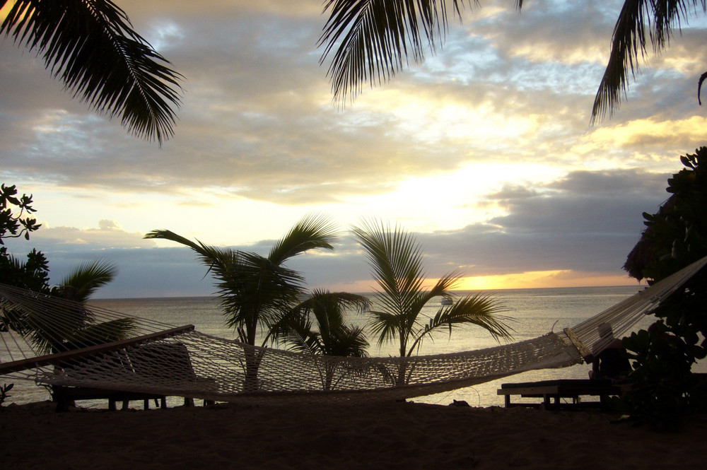 Hammock at Fiji Islands