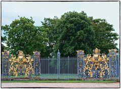 Hampton Court, eines der Tore