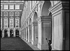 Hampton Court Palace - Innenhof