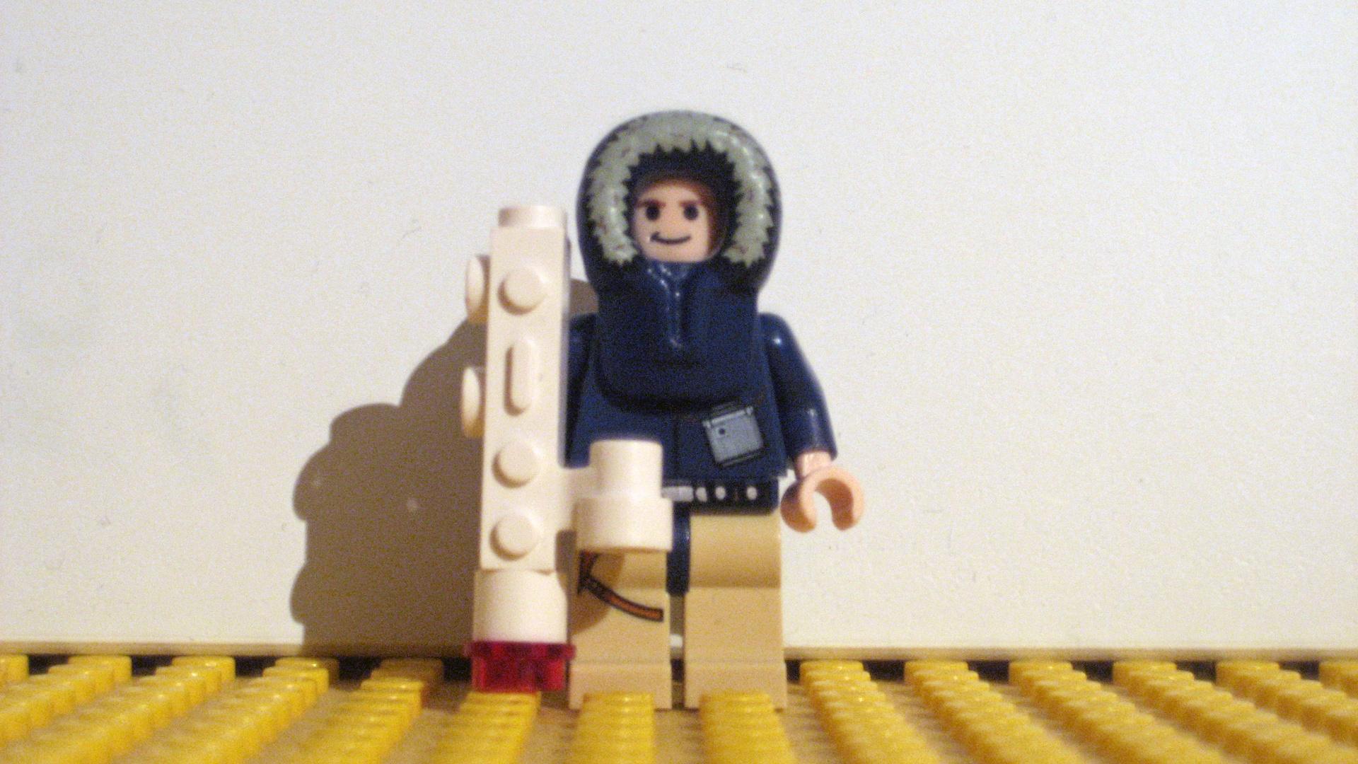 Han Solo mit Panzerfaust von Hoth