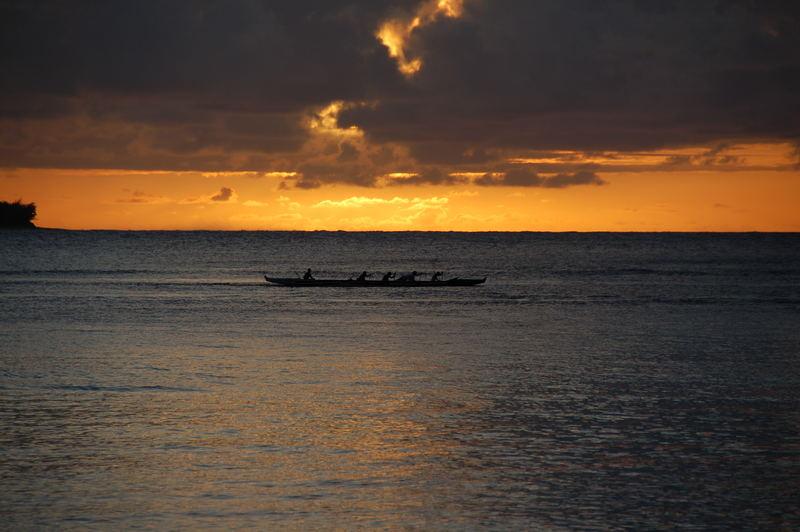 Hanalei - Sunset - Kauai