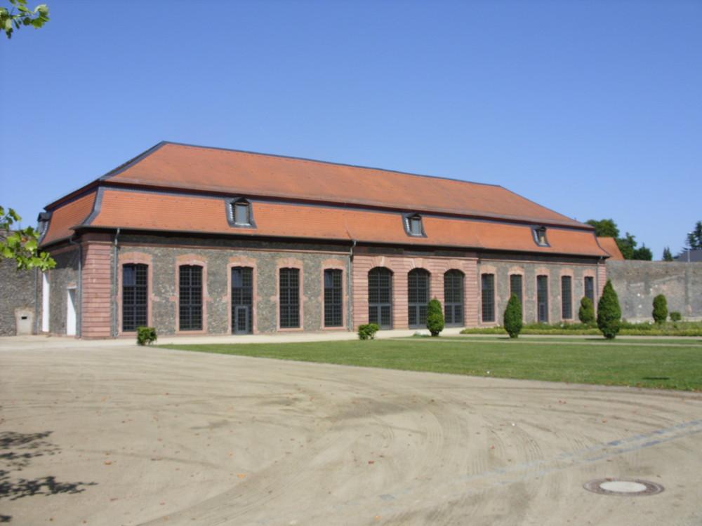 Hanau - Orangerie nähe Schlossphilipsruhe