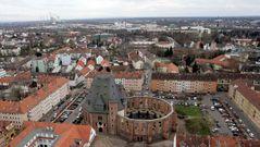 Hanau von oben