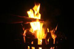 Hand im Feuer
