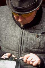 Handarbeit - Der Messerschleifer IV