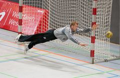 Handball - oder Fußballtorwart?