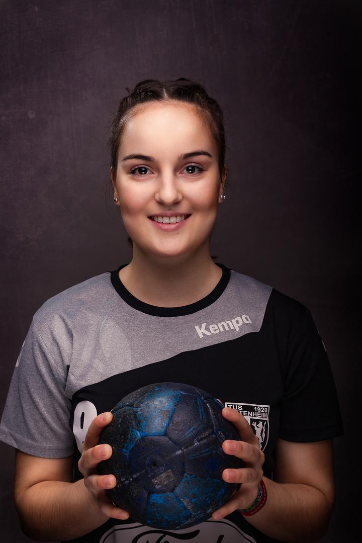 Handball von seiner schönsten Seite - Franziska