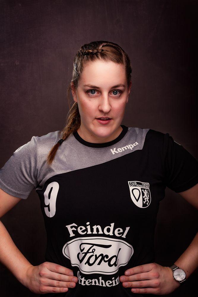Handball von seiner schönsten Seite - Saskia