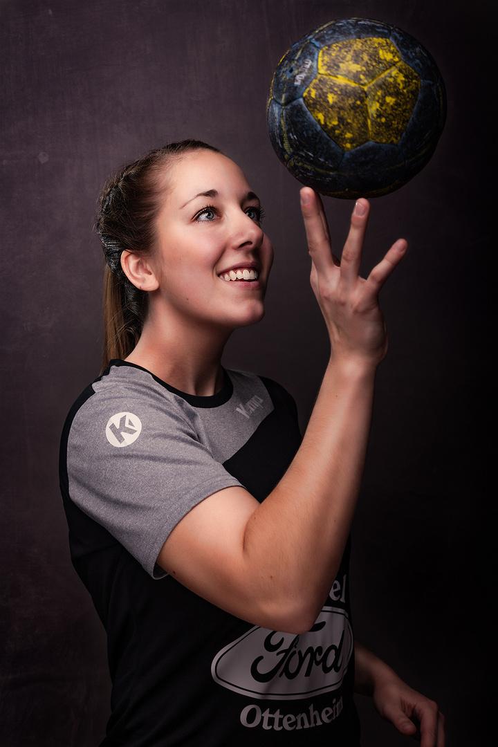 Handball von seiner schönsten Seite - Selina
