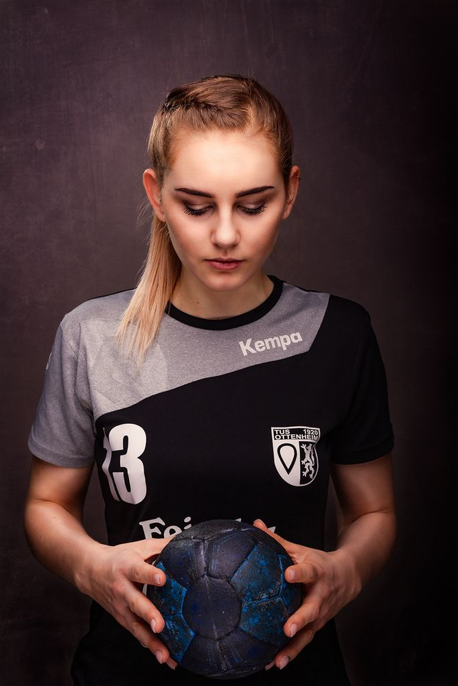 Handball von seiner schönsten Seite - Vivienne