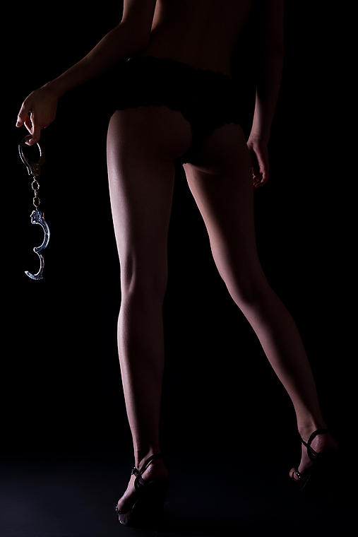 Handcuffs and Legs