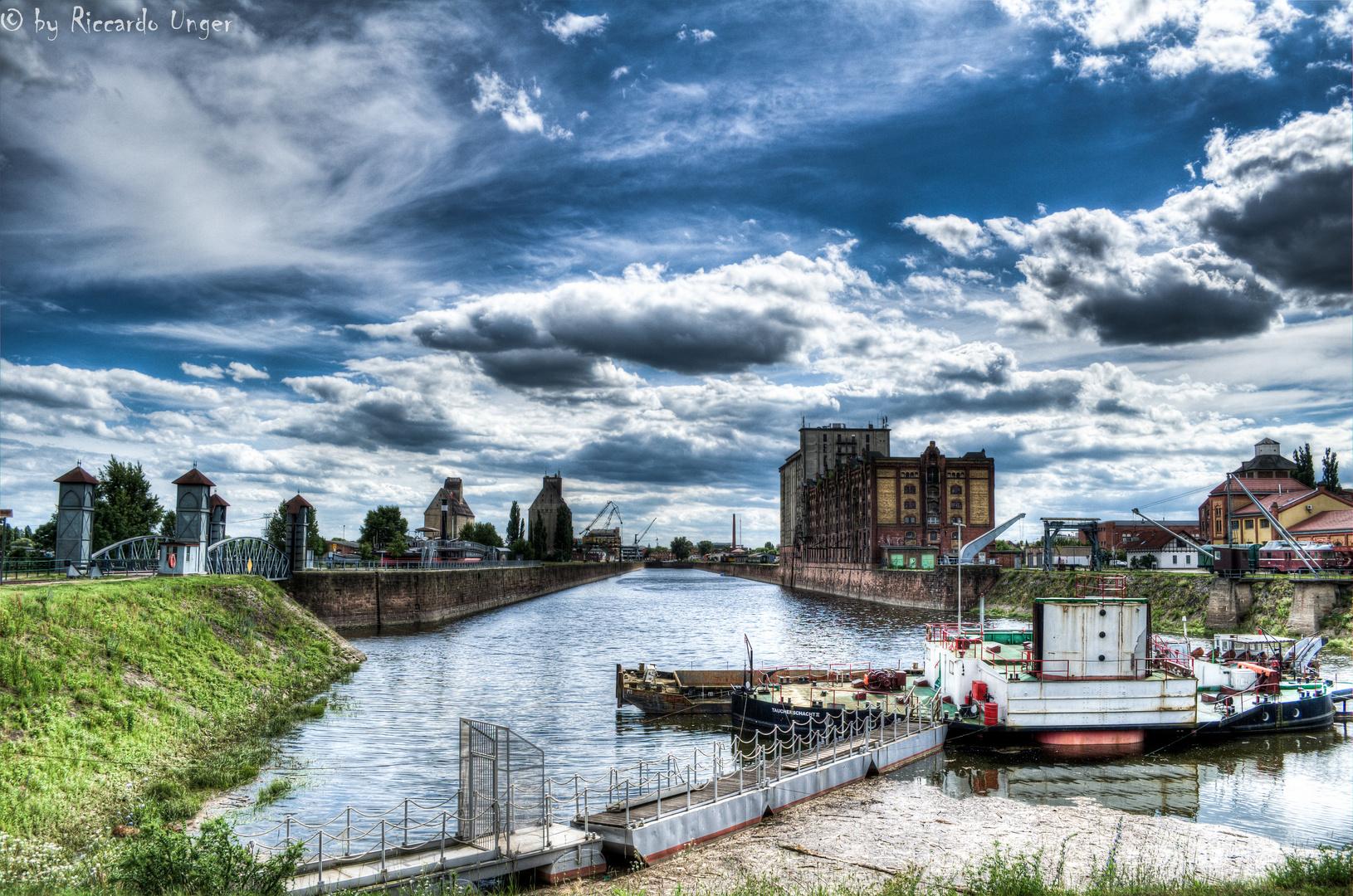 Handelshafen Magdeburg