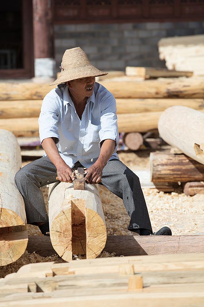 Handwerker in Donglianhua