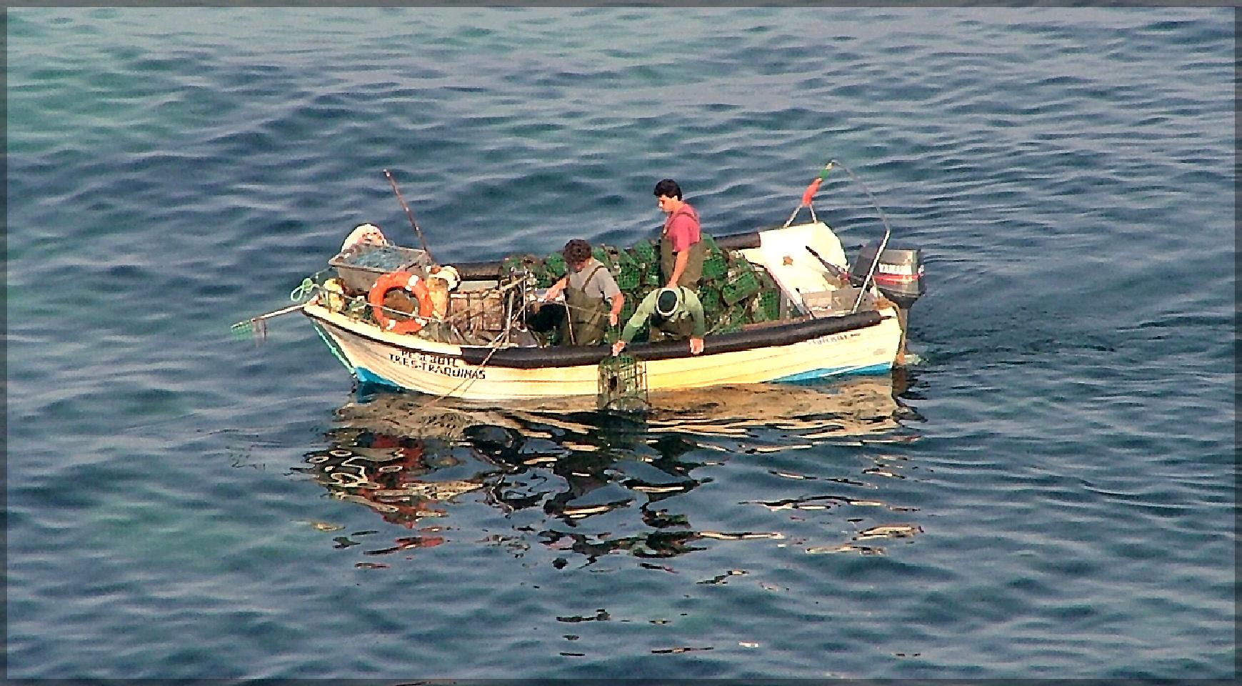 Handwerkliche Fischer