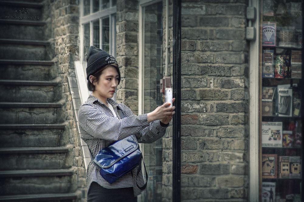 Handy Girl in Camden Street