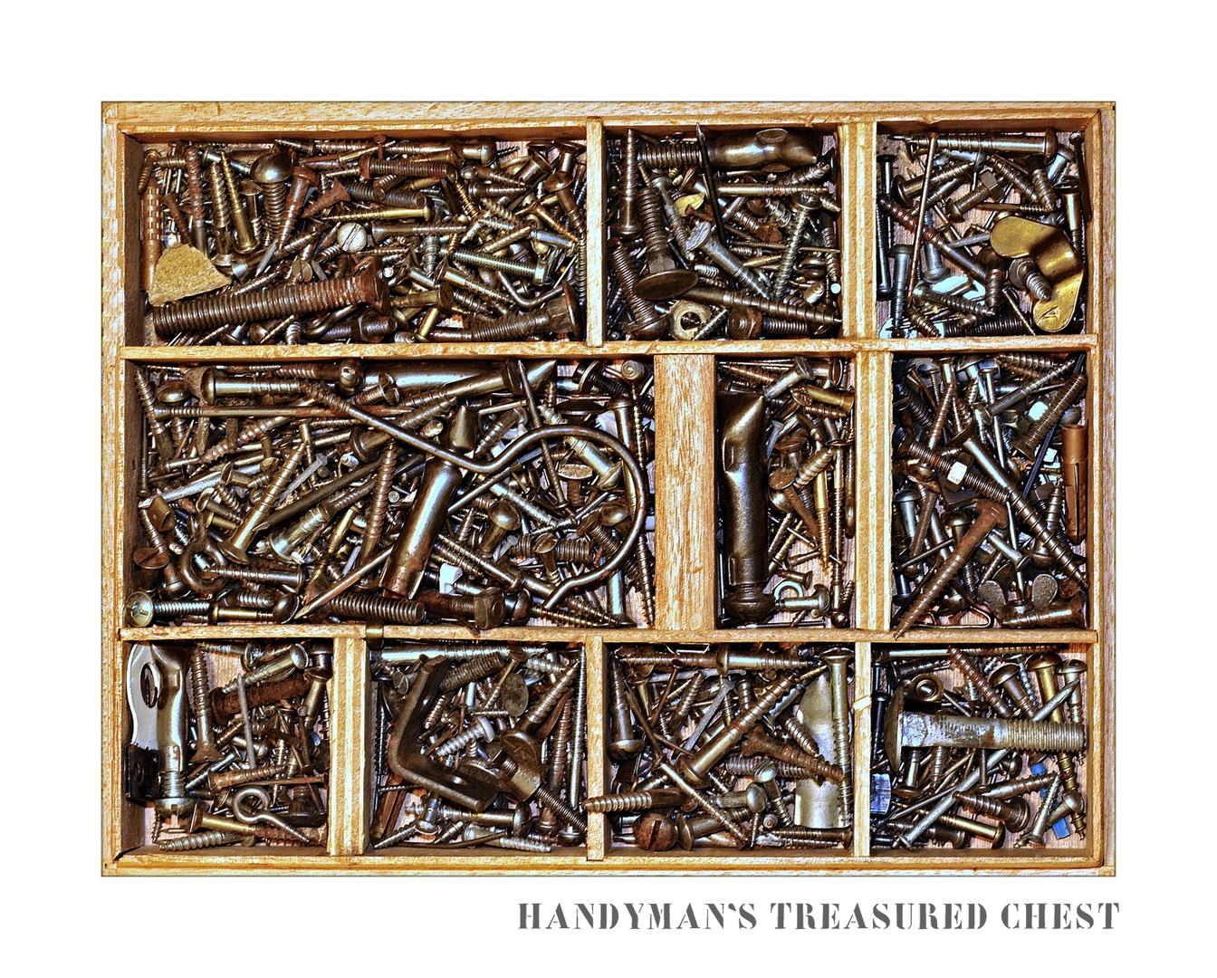Handyman's treasured chest