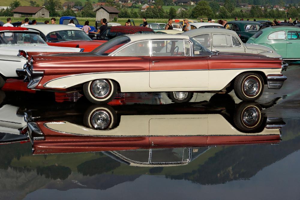 Hangar rockin 2012 spiegel dich foto bild autos for Spiegel youngtimer