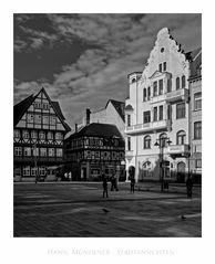 """Hann. Mündener - Stadtansichten """" Blick vom Marktplatz """""""