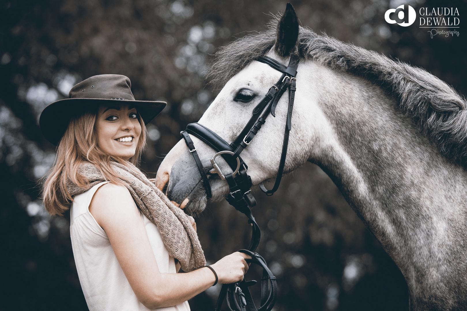 Hanna und Pferd