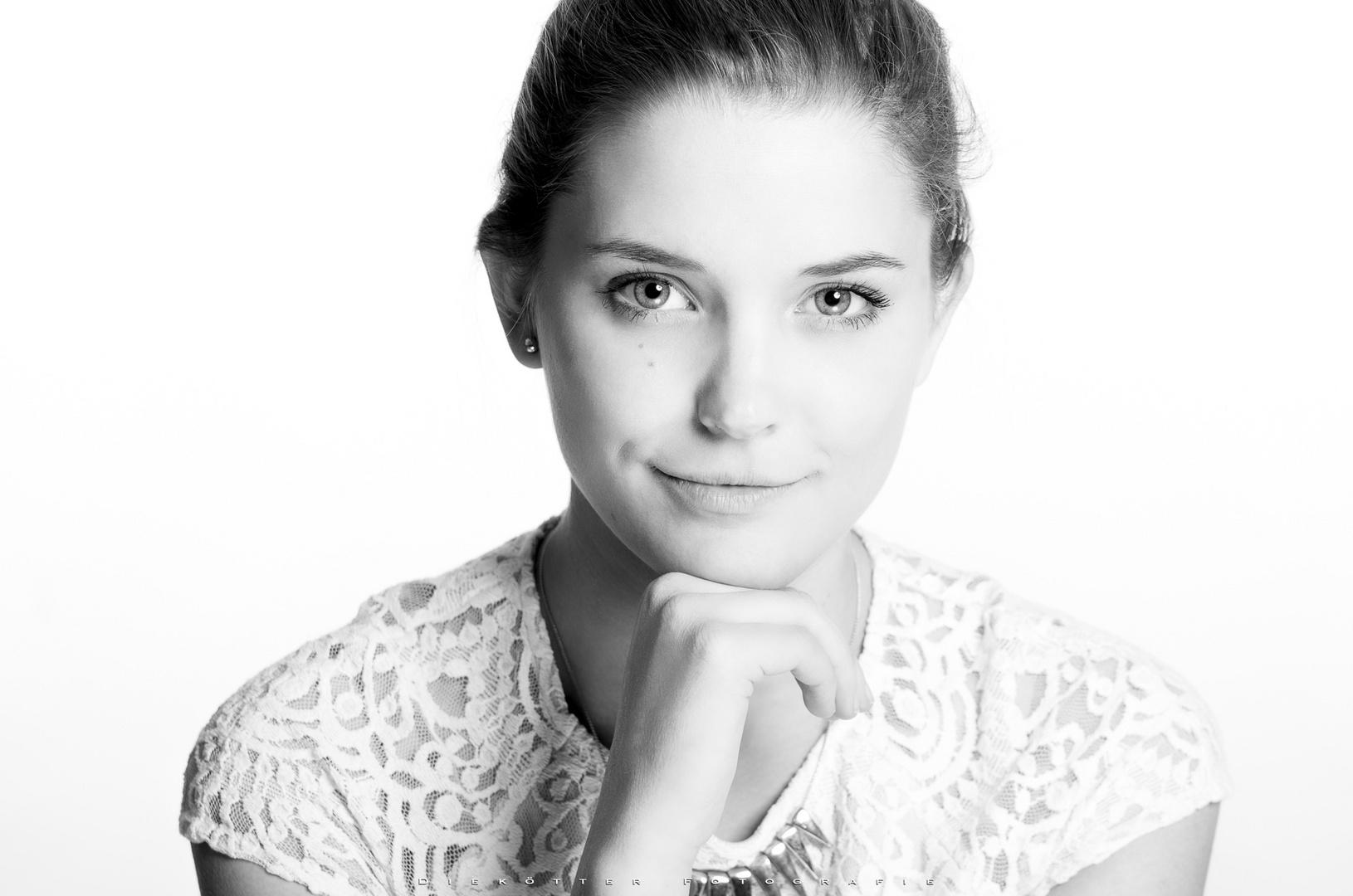 Hannah High-Key Portrait