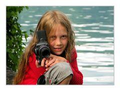 Hannah's erster Fotospass