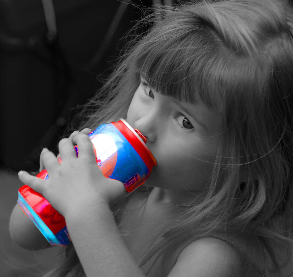 Hannah's Pepsi.