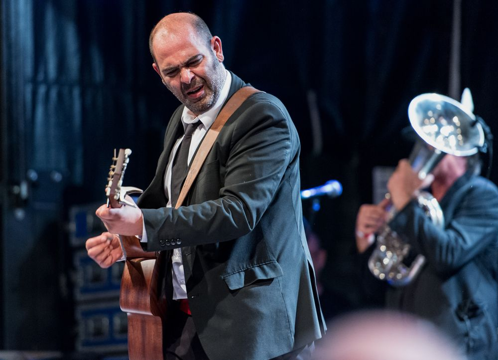 Hannes Ringelstetter in Concert beim Bardentreffen (3)