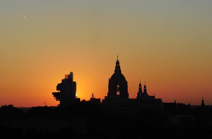 Hannover am Morgen