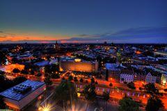 Hannover bei Nacht   1