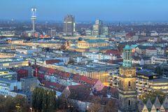 Hannover Blick zum Zentrum