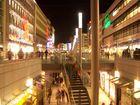 Hannover City bei Nacht