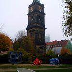 Hannover im Morgennebel