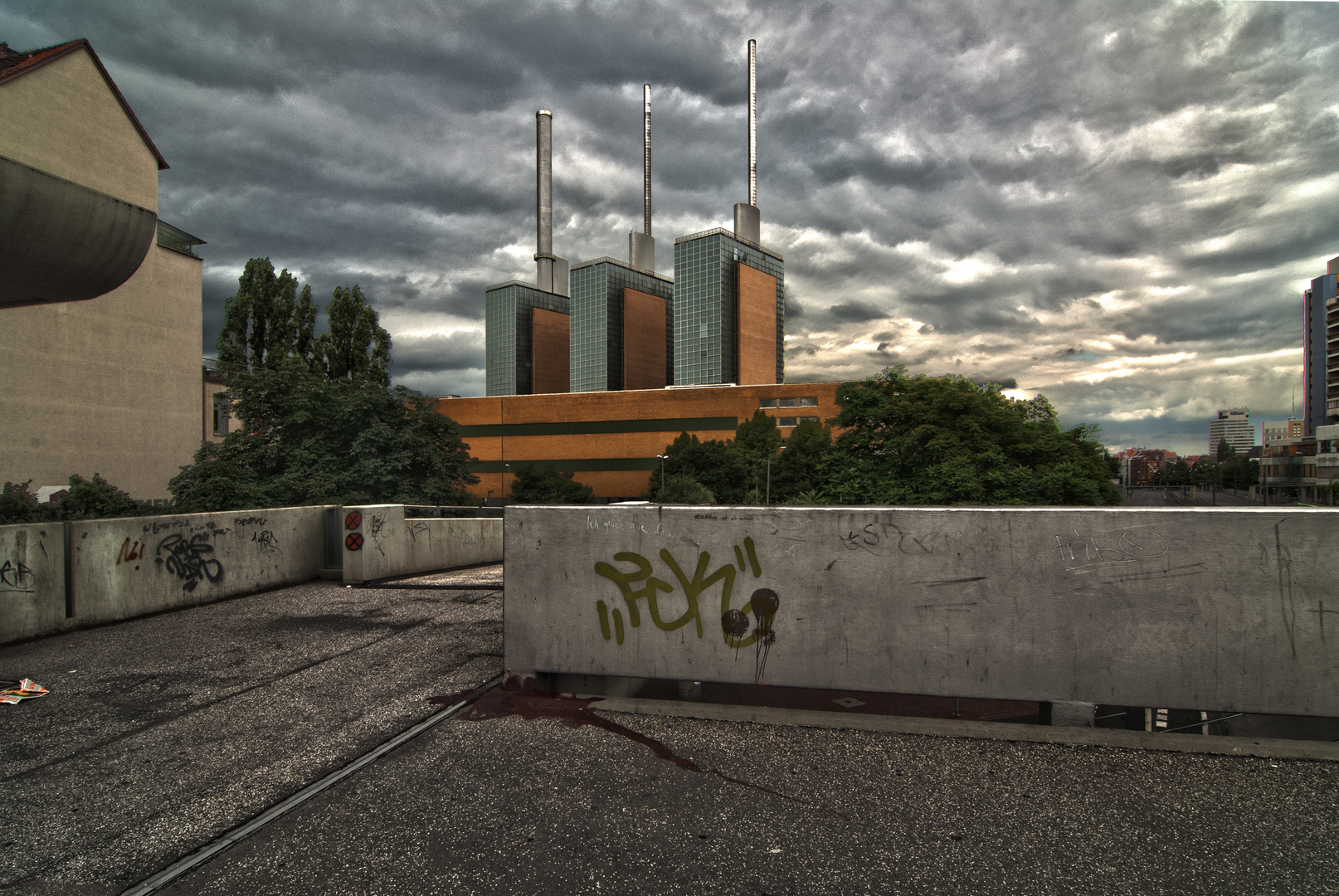 Hannover Linden von einem Platz den es nicht mehr gibt